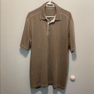 Johnston & Murphy polo shirt size xl